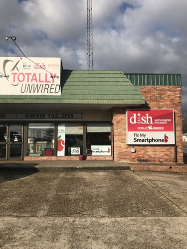 totally unwired Store front ruston la